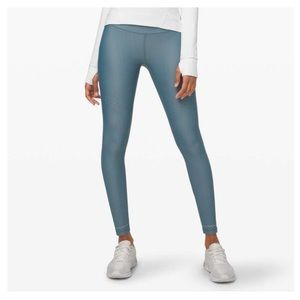 NWOT LULULEMON Zoned In Tight in Blue Charcoal